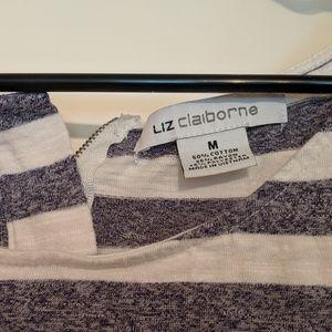 Liz Claiborne Tops - Liz Claiborne Striped Tank Top